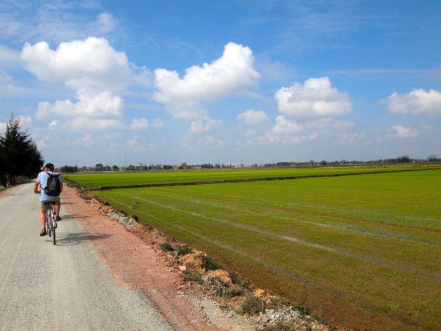 Cycling around Hue, Vietnam